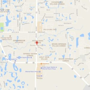 map of Seven Springs shows ATZ irrigation service area